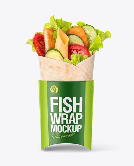 Fish Wrap Mockup
