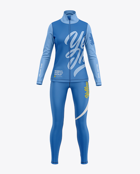 Women's Sports Kit Mockup - Front View