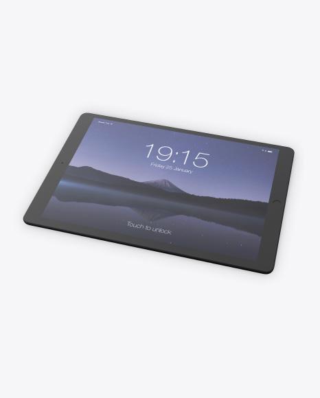 Clay iPad Pro 12.9 Mockup