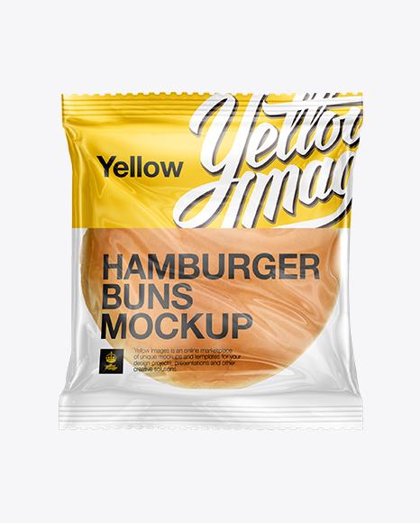 Burger Buns 2 Pack Mockup