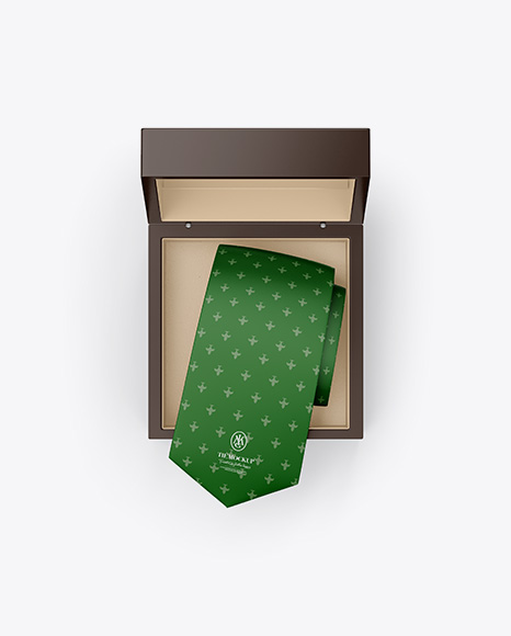 Matte Box w/ Tie Mockup