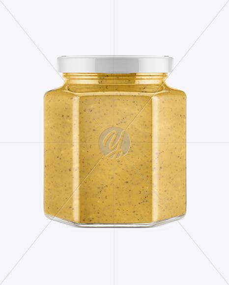 Sauce Jar Mockup