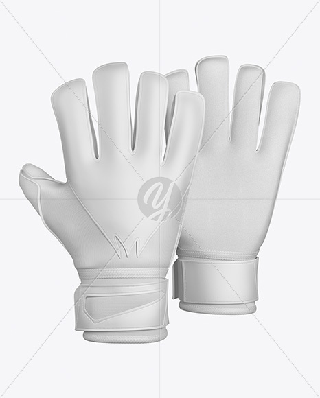 Goalkeeper Gloves Mockup