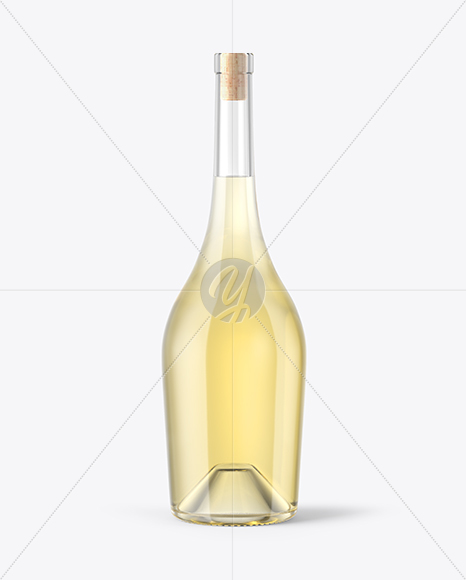 Download Clear Glass Wine Bottle Mockup PSD - Free PSD Mockup Templates