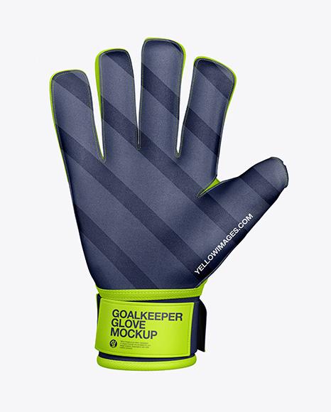 Goalkeeper Glove Mockup