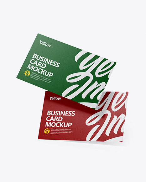 Paper Business Cards Set