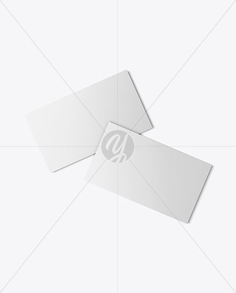 Download Two Business Cards Mockup Free Mockups