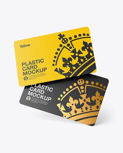 Plastic Card Set