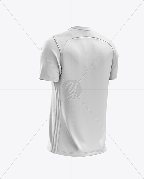 Download Mens Football Jersey Mockup Half Side View Yellowimages