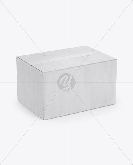 Kraft Box w/ Duct Tape Mockup