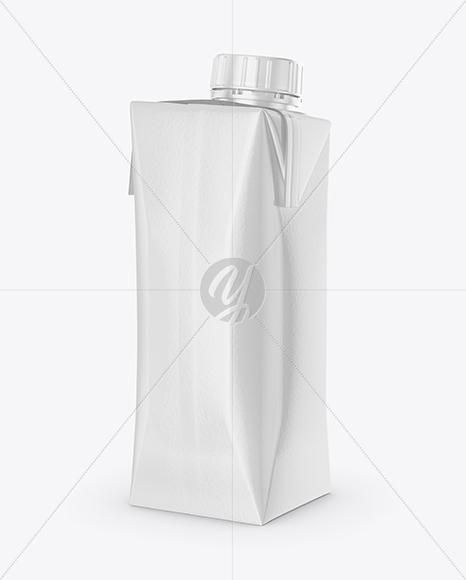 Download 250ml Glossy Juice Carton Package Mockup PSD - Free PSD Mockup Templates