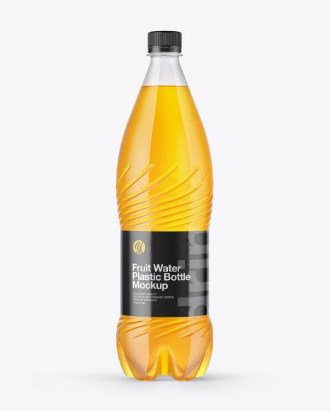 Fruit Water Bottle Mockup