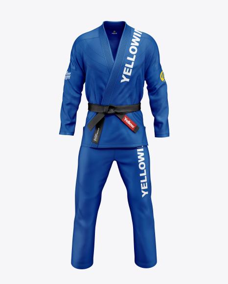 Jiu Jitsu Kimono Mockup (Front View)