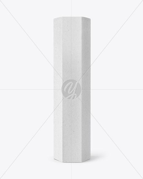 Kraft Octagonal Box Mockup