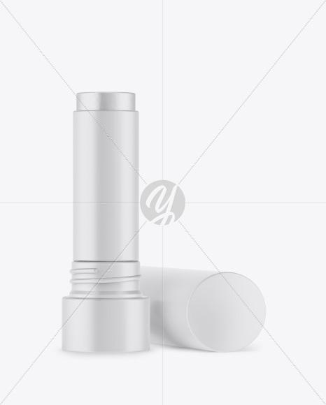 Download Opened Matte Square Lipstick Mockup PSD - Free PSD Mockup Templates