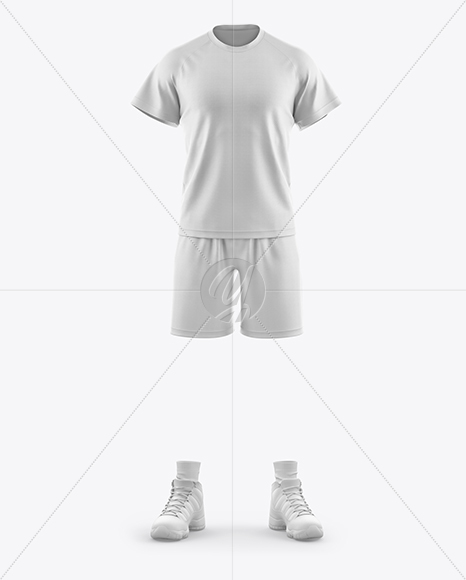 Men's Casual Kit Mockup