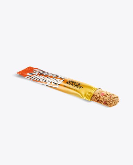 Opened Snack Bar Mockup