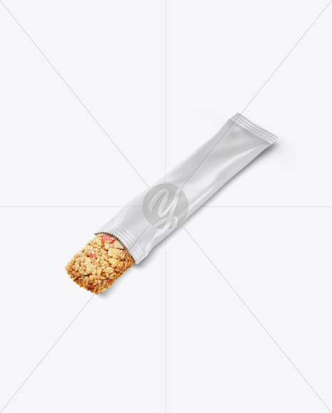 Opened Snack Bar Mockup