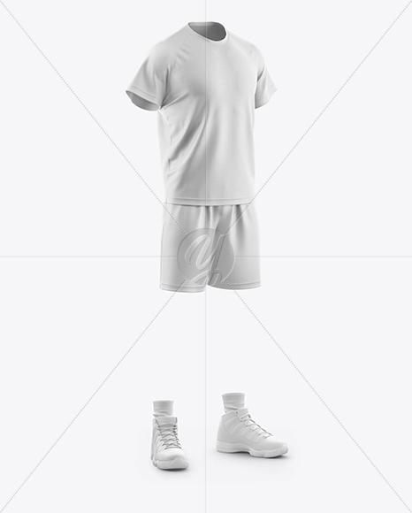 Men's Casual Kit Mockup