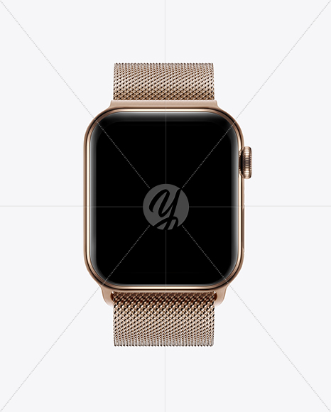 Apple Watch Series 4 Mockup