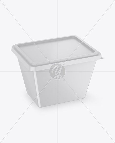 Matte Container Mockup