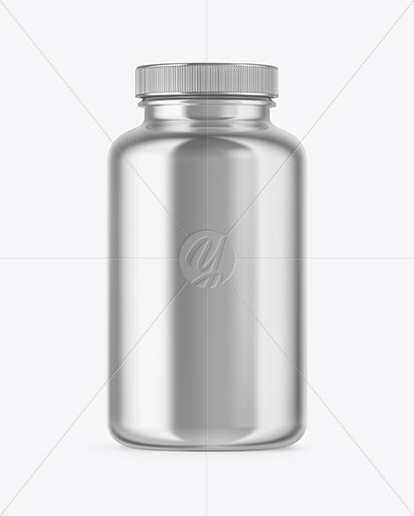 Download Metallic Water Bottle Mockup PSD - Free PSD Mockup Templates