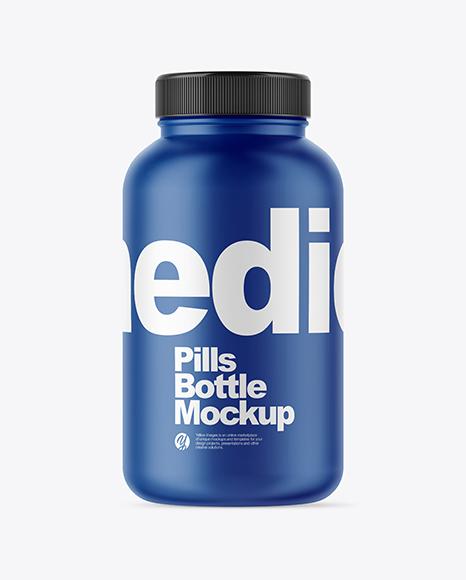 Pills Bottle Mockup Set