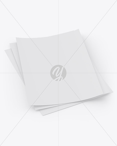 A4 Papers Mockup