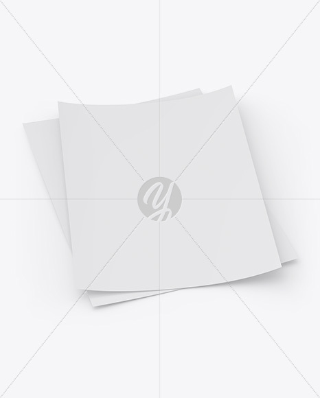 Download Textured A4 Papers Mockup Free Mockups