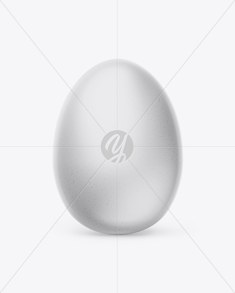 Egg Mockup - Front View