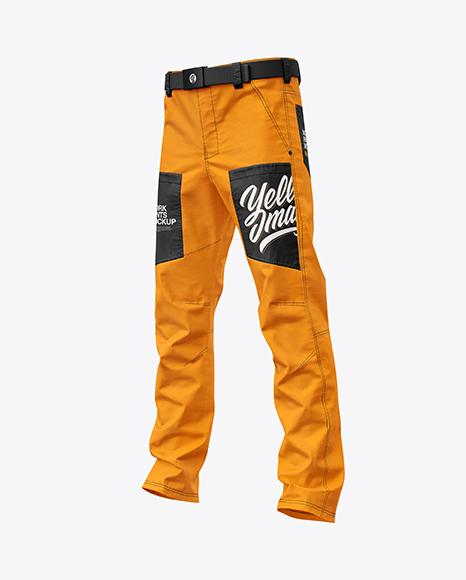 Work Pants Mockup