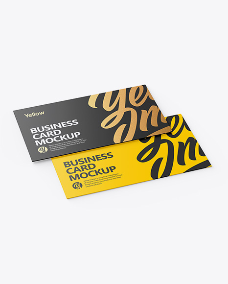 Download Embossed Business Cards Mockup Free PSD - Free PSD Mockup Templates