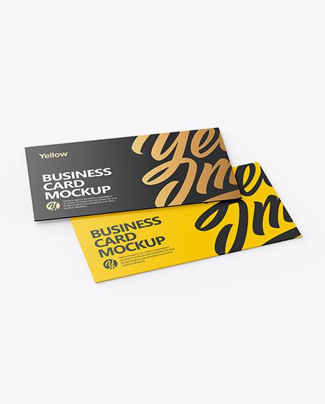 Free Mockup Psd Business Card