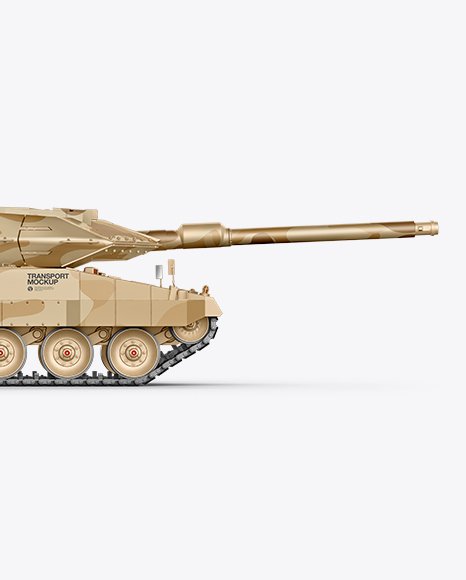 Tank Mockup - Side View
