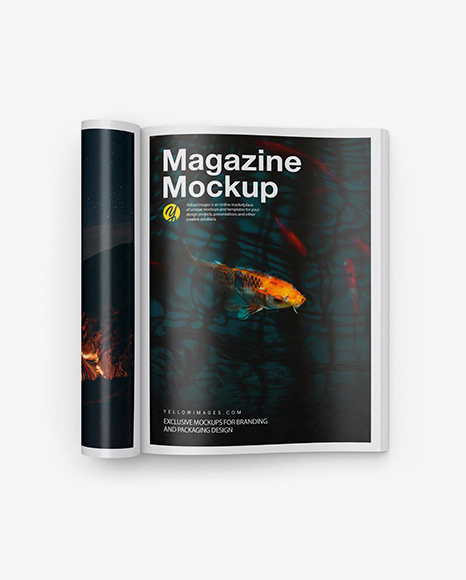 Magazine w/ Wrapped Pages