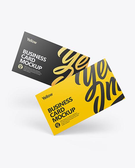 Download Business Cards PSD Mockup