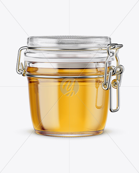 Download Glass Jar With Clamp Lid Mockup In Jar Mockups On Yellow Images Object Mockups PSD Mockup Templates