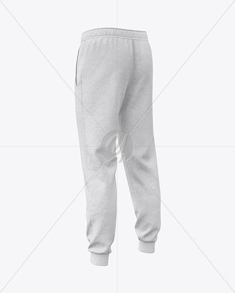 Melange Men's Sport Pants Mockup