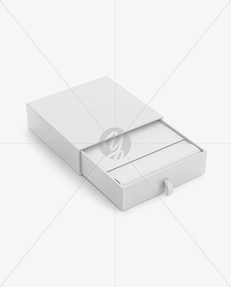 Opened Matte Box Mockup