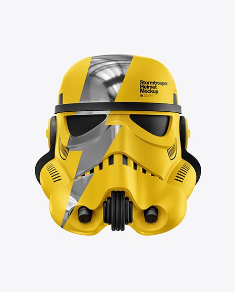 Download Matte Stormtrooper Helmet PSD Mockup