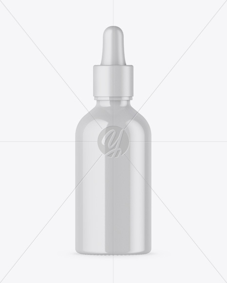 Download Glossy Dropper Bottle Box Mockup PSD - Free PSD Mockup Templates