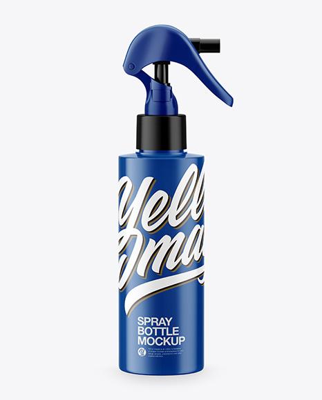 Download Glossy Spray Bottle PSD Mockup