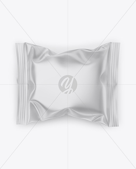 Glossy Flow Pack Mockup