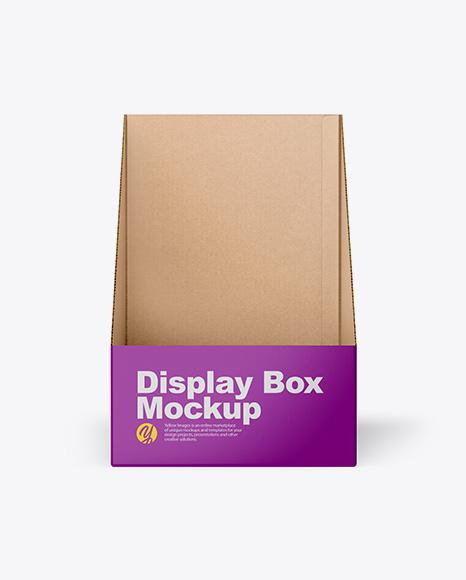 Download Display Box PSD Mockup