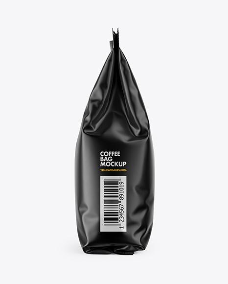 Download Matte Coffee Bag PSD Mockup