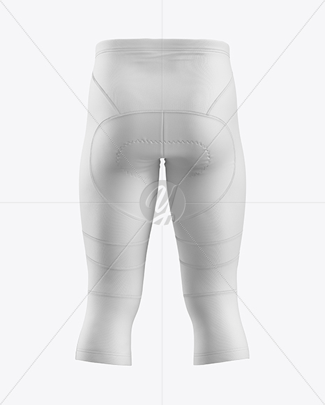 Cycling Pants Mockup