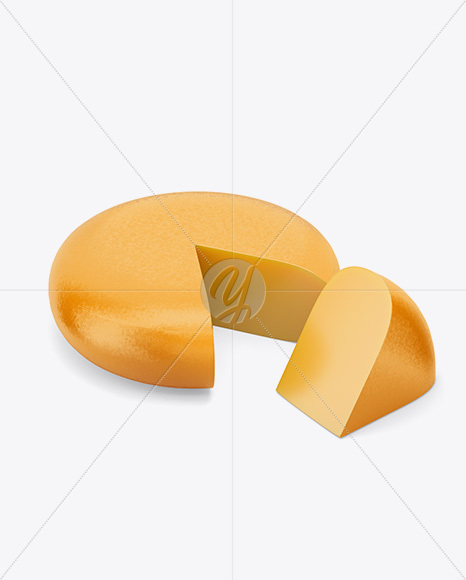 Cheese Wheel Mockup