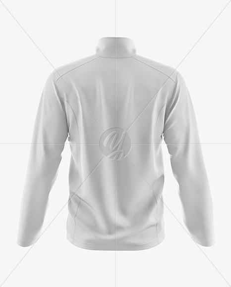Men's Wind Jacket Mockup