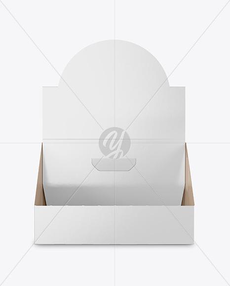 Glossy Display Box Mockup