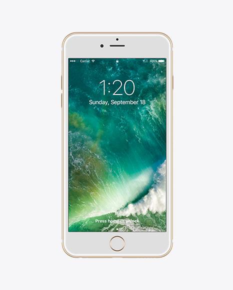 Download Apple iPhone 6 Plus PSD Mockup